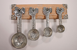Measuring Spoons 2 Stock Photos - Image: 1385203