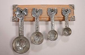 Measuring Spoons 2 Stock Photos - Image: 1385203