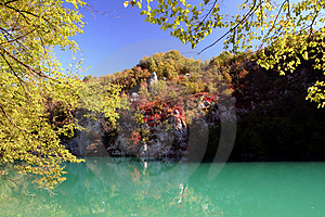 Plitvice National Park Royalty Free Stock Images - Image: 1387309