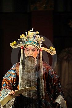 China Opera Man With Long Beard Stock Photo - Image: 13800830