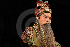China Opera Man With Long Beard Stock Images - Image: 13800864