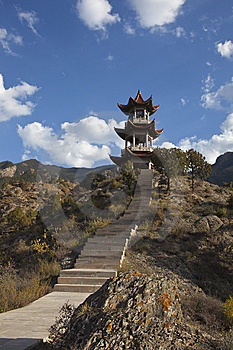 Chinese Pavilion Royalty Free Stock Photos - Image: 13801328