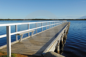 Wooden Jetty Royalty Free Stock Photography - Image: 13801727