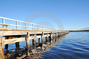 Wooden Jetty Royalty Free Stock Image - Image: 13801926