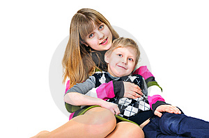Funny Brother And Sister Royalty Free Stock Image - Image: 13801936
