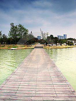 Shore Of Lake Park Royalty Free Stock Photos - Image: 13802398