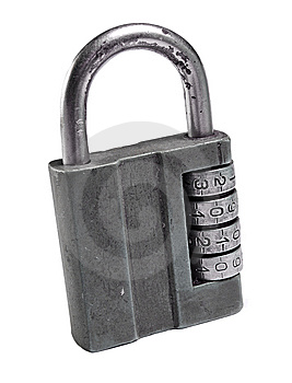 Old Code Lock Royalty Free Stock Image - Image: 13802576