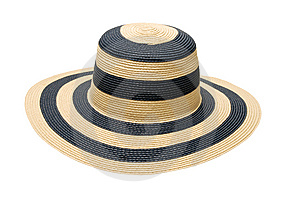 Summer Straw Hat Royalty Free Stock Photo - Image: 13803205