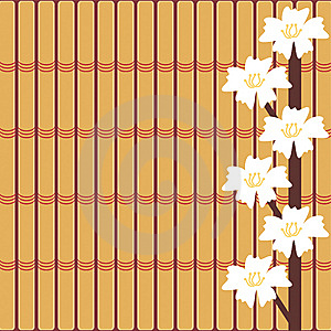 Japanese Cherry Brunch Stock Image - Image: 13804421