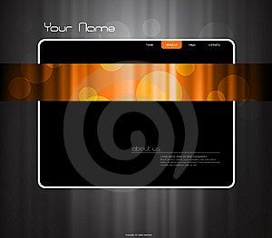 Website Template Stock Photos - Image: 13806093