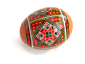 Painted Easter Egg Stock Photos - Image: 13806923