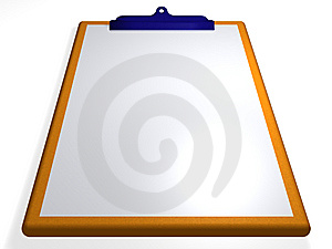 Clipboard - Textbox - 3D Royalty Free Stock Image - Image: 13807016