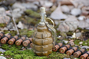 Military Archeology Royalty Free Stock Images - Image: 13809279