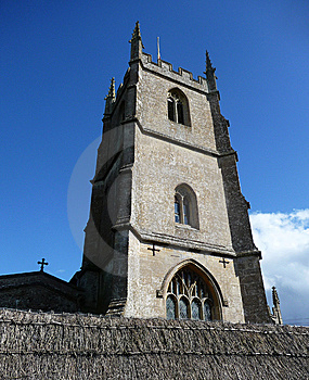 Avebury Church Royalty Free Stock Image - Image: 13811306