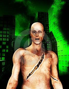 Cyborg Stock Images - Image: 13811354