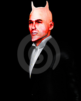 Devil In A Suite Royalty Free Stock Photo - Image: 13811365