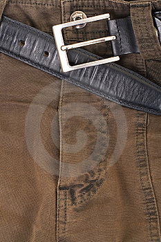Jeans Texture Khaki Colour Royalty Free Stock Images - Image: 13813019