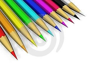 Crayons Royalty Free Stock Image - Image: 13813286