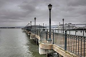 San Francisco Waterfront Stock Photo - Image: 13813570