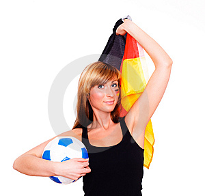 German Fan Stock Photos - Image: 13817513