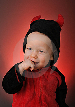 Little Devil Stock Photography - Image: 13822742