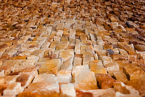 Handcraft Brick Wall Stock Photography - Image: 13822932