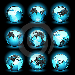 World (earth) Royalty Free Stock Photography - Image: 13823287