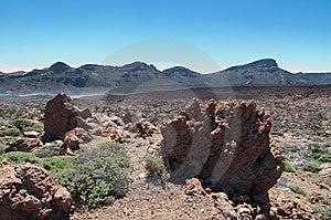 Volcanic Landscape - Mount Teide, Tenerife Royalty Free Stock Photography - Image: 13823757