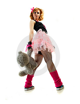 Expression With Toy Stock Image - Image: 13824081