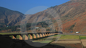 Plateau Landscapes Stock Image - Image: 13825441
