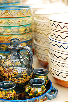 Traditional Pottery Royalty Free Stock Photos - Image: 13825518