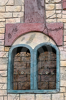 Window Pattern Feature Royalty Free Stock Photos - Image: 13827288