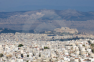 Athens General View Stock Photography - Image: 13829862