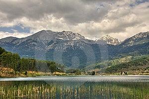 Doksa Lake Korinthia Hellas Stock Images - Image: 13830584
