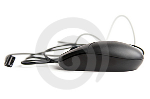 Black Usb Mouse Stock Images - Image: 13830794
