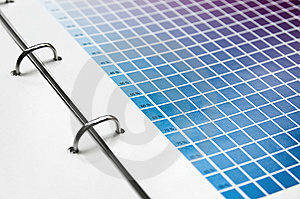 Color Scale Chart Stock Images - Image: 13831564