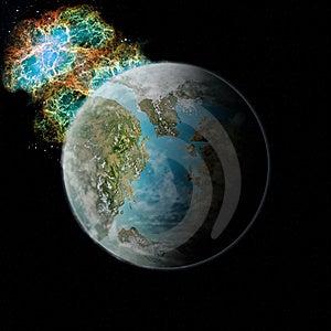 Planet Pandora Stock Photos - Image: 13832543