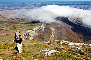 Hiking Royalty Free Stock Photos - Image: 13833428