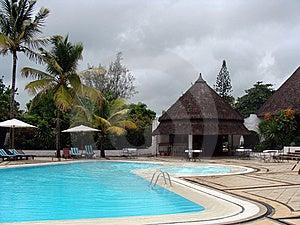 Tropical Resort Poolside Stock Photos - Image: 13835543