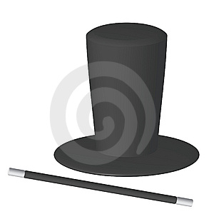 Magician's Hat Royalty Free Stock Photo - Image: 13835745