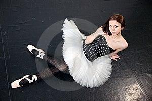 Female Ballet Dancer Royalty Free Stock Image - Image: 13836266
