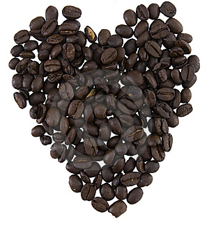 Beans Shaped As A Heart Stock Photos - Image: 13836903
