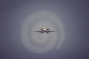 Private Jet Stock Photo - Image: 13837250