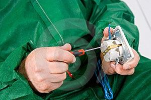 Repairing Socket Stock Photos - Image: 13837563