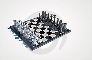 Chessboard Stock Photo - Image: 13838480
