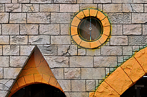 Decoration On External Wall Of Building Royalty Free Stock Photo - Image: 13841845