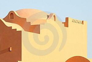 Arabian Architecture Style Royalty Free Stock Photo - Image: 13841995