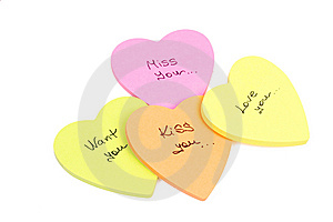 Paper Love Note Stock Photos - Image: 13844553