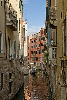 Venice Chanel Stock Image - Image: 13845651