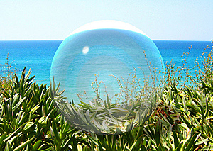 Glass Ball. Royalty Free Stock Photo - Image: 13846375